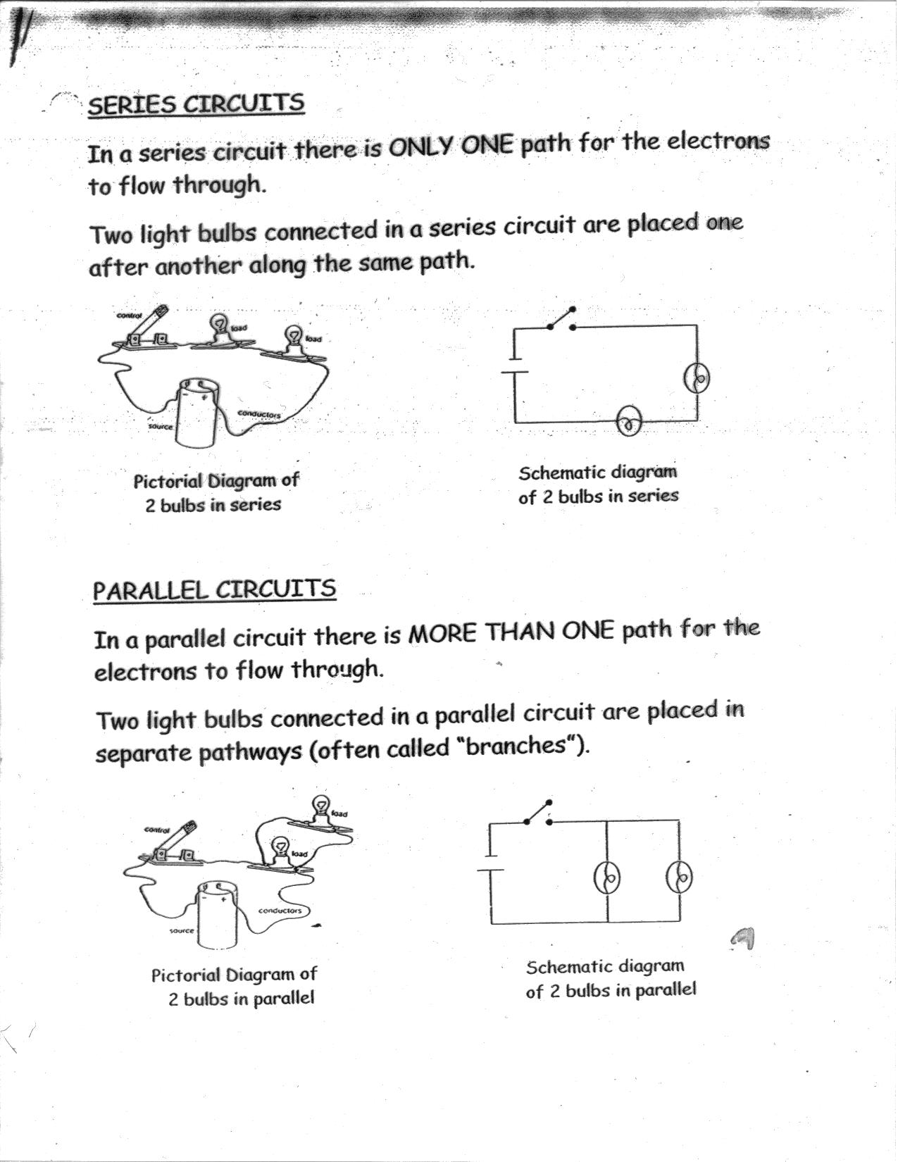 Free Worksheet Circuits Worksheet series and parallel circuits worksheet templates worksheets dc electric worksheets