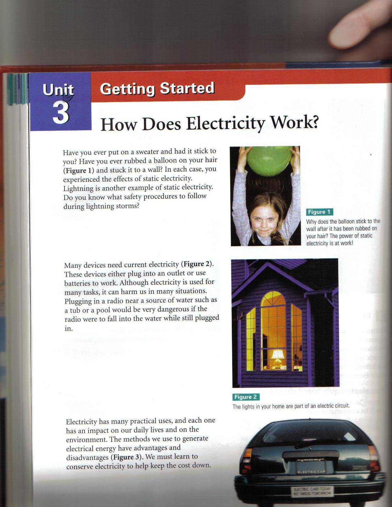 Toxic Science How Does Electric Circuit Work 122 123 126 127 What Did You Already Know Note Building A Model For Charge
